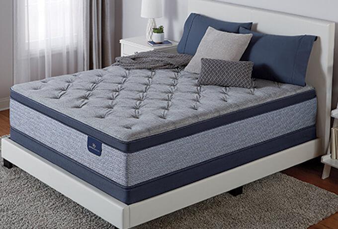Serta Perfect Sleeper Icollection Milford Plush Pillow Top At Big Lots Serta Com